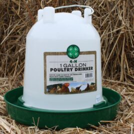One Gallon Poultry Drinker