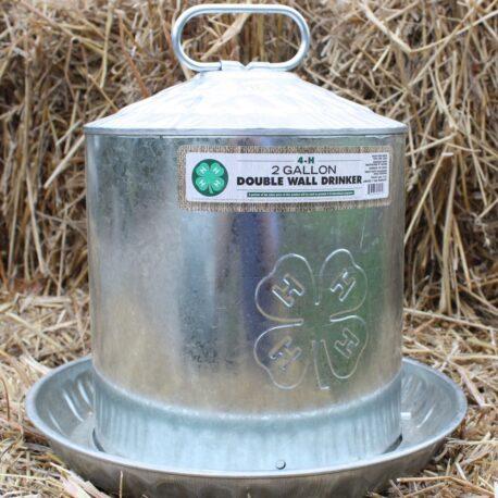 2 gallon poultry drinker