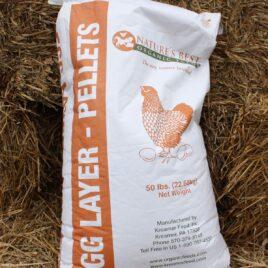 Organic Chicken Laying Pellets