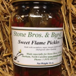 Sweet Flame Pickles