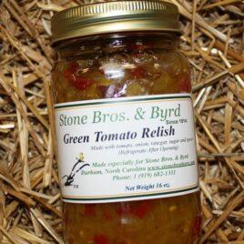 Green Tomato Relish
