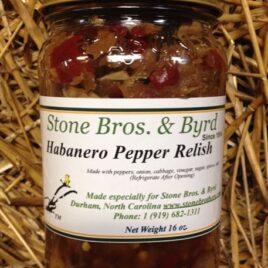 Habanero Pepper Relish