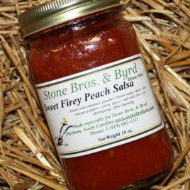 Sweet Firey Peach Salsa