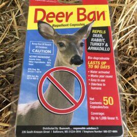 Deer Ban